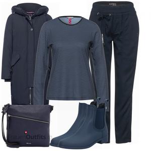 Herbst Outfit für den Alltag FrauenOutfits.ch