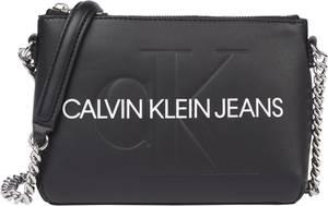Calvin Klein Jeans Umhängetasche schwarz / weiß