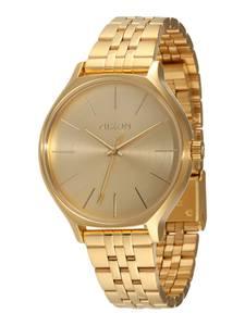 Nixon Armbanduhr Clique gold