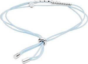 FOSSIL Armband silber / hellblau