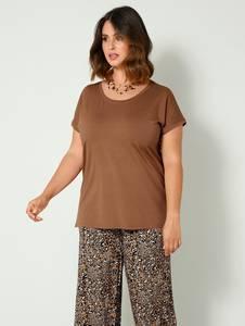 Shirt cognac Sara Lindholm
