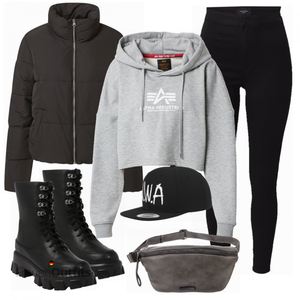 Modisches Winter Outfit FrauenOutfits.de