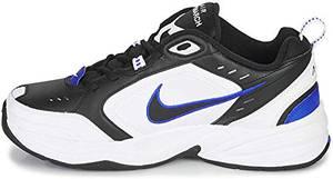 Nike Mens Air Monarch IV Cross Trainer, Blanco Negro Azul, 43 EU