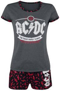 AC/DC EMP Signature Schlafanzug