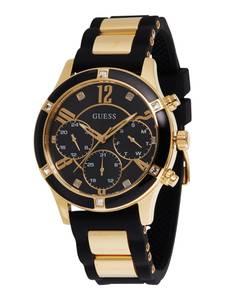 GUESS Uhr ''Breeze'' schwarz / gold