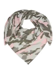 Zwillingsherz Dreieckstuch  Camouflage  rosa / grün