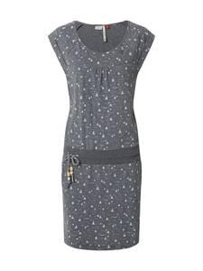 Ragwear Kleid ''PENELOPE AY'' dunkelgrau / weiß