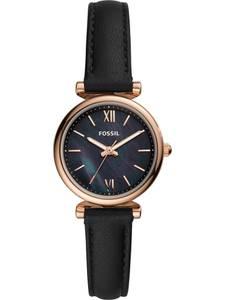 FOSSIL Uhr gold / schwarz