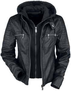 Black Premium by EMP Road Tripping Kunstlederjacke