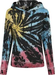 Urban Classics Ladies Tie Dye Kapuzenpullover