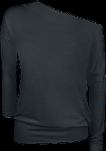 Schwarz ist bunt genug  Langarmshirt