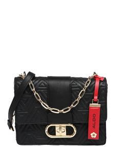 ALDO Tasche schwarz / rot / gold