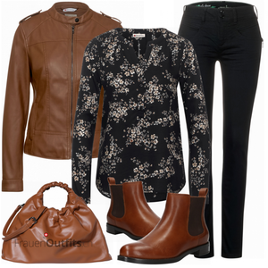 Outfit in herbstlichen Farben FrauenOutfits.ch