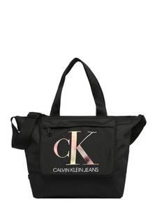 Calvin Klein Jeans Shopper schwarz / weiß / mischfarben