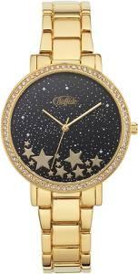 BUFFALO Uhr mit Modeschmuck gold