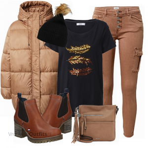Cooles Winter Outfit VrouwenOutfits.nl