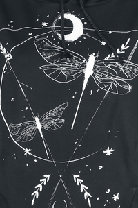 Outer Vision Dragonfly Kapuzenpullover