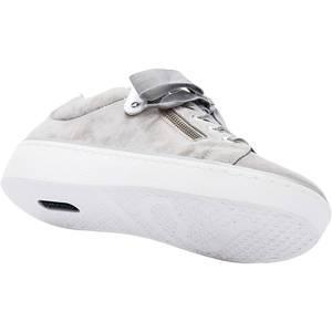 REMONTE Sneaker weiß / grau / silber