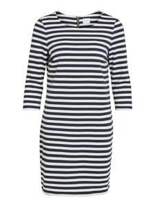 VILA Jerseykleid ''Vitinny'' weiß / blau