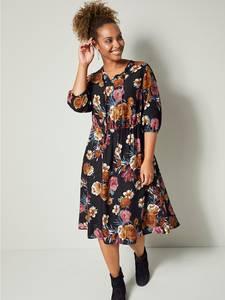 Kleid schwarz/beige/rosé Angel of Style