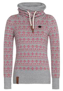 Naketano Pullover grau / pink