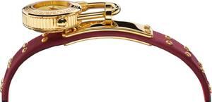 VERSACE Uhr ''VEDW00319'' blutrot / gold / rosa