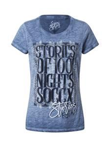 Soccx T-Shirt taubenblau / nachtblau / azur