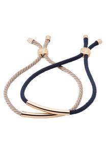 HALLHUBER Armband-Set navy / gold