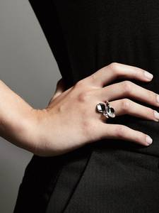 Pilgrim Ring ''Hollis'' silber