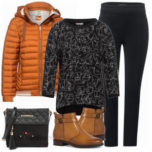 Winterliches Freizeit Outfit FrauenOutfits.ch