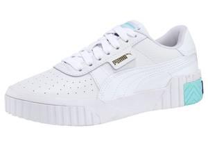 PUMA Sneaker weiß / türkis