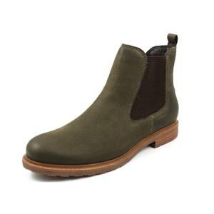 TAMARIS Chelsea Boots dunkelgrün