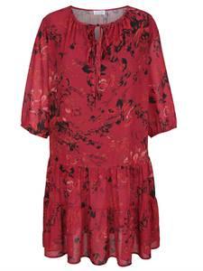 Kleid rot/schwarz Sara Lindholm