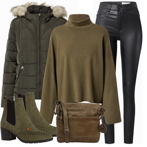 Chique winteroutfit VrouwenOutfits.be
