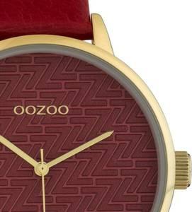OOZOO OOZOO Quarzuhr »C10247« gold / rot