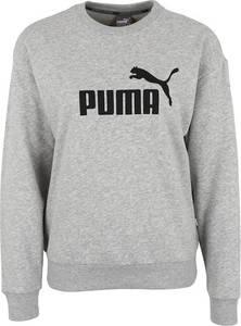 PUMA Sweatshirt graumeliert / schwarz