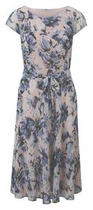 heine Kleid beige / blau
