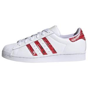 ADIDAS ORIGINALS Sneaker ''Superstar'' weiß / rot