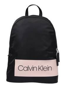 Calvin Klein Rucksack BLOCK OUT puder / schwarz
