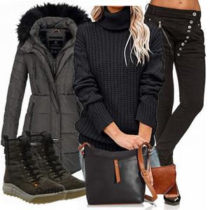 Trendiger Winterlook FrauenOutfits.de
