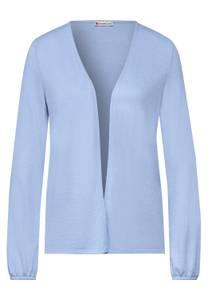 Street One Damen Offene Shirtjacke in Blau