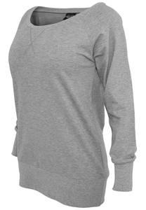 Urban Classics Sweatshirt grau / graumeliert