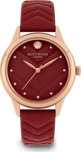 DAISY DIXON Uhr rosegold / merlot