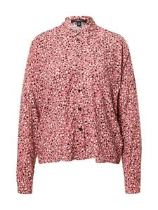 Mavi Bluse rosé / weiß / schwarz