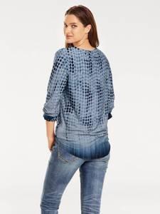 heine Shirtbluse blau
