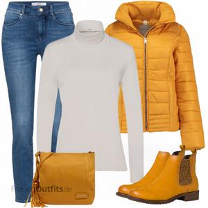 Herbstlicher Look FrauenOutfits.de