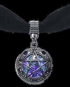 Blackheart Pentagram Halsband