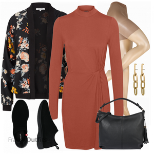 Florales Alltagsoutfit FrauenOutfits.ch