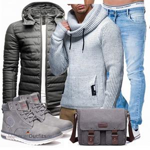 Winterliches Freizeit Outfit MaennerOutfits.de