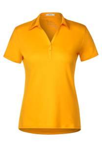 CECIL Damen Polo-Shirt in Orange
